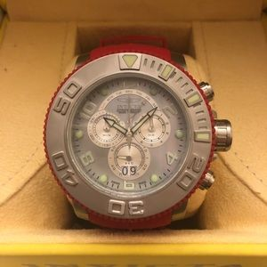 Red Invicta limited edition
